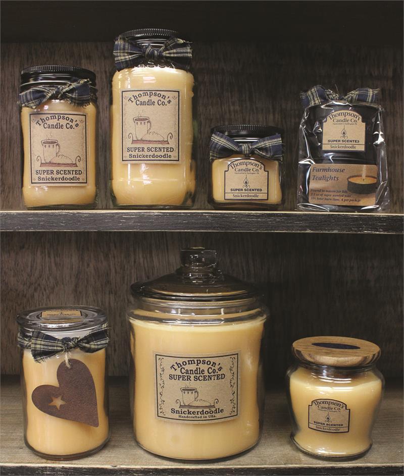 Snickerdoodle Super Scented Jar Candles