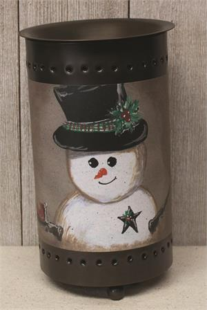 Snowman in Top Hat Warmer