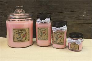 Thompson's super scented jar candles